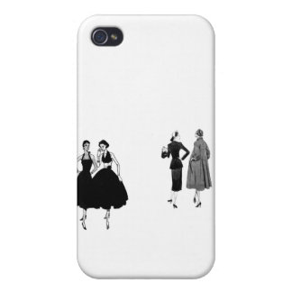 gossiping ladies iPhone 4/4S covers