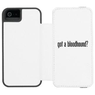 got a bloodhound incipio watson™ iPhone 5 wallet case