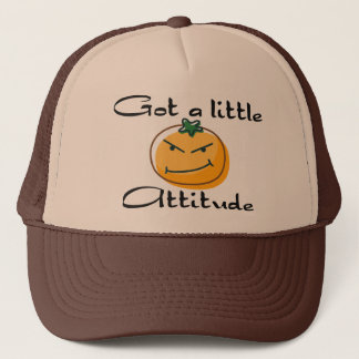 Got a little attitude trucker hat