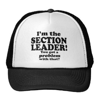 Got A Problem With That Section Leader Mesh Hat
