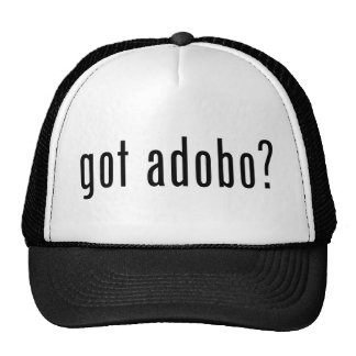 got adobo? mesh hats