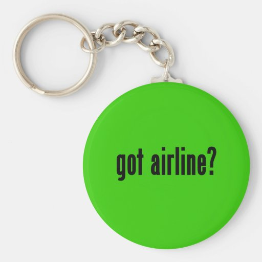 got airline? key chain