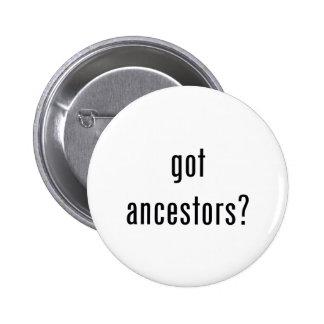 got ancestors? 6 cm round badge