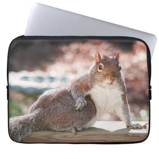 Got Attitude? Squirrel Laptop Computer Sleeve