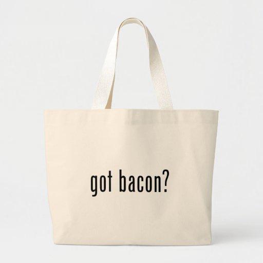Got bacon canvas bags