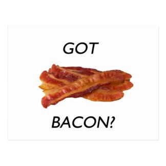 Got bacon? postcard
