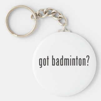 got badminton? key ring