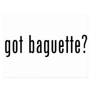 got baguette? postcard