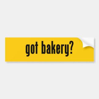 got bakery? bumper sticker