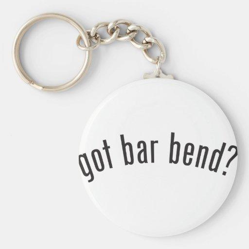 got bar bend? keychain