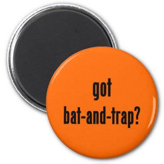 got bat-and-trap? fridge magnet
