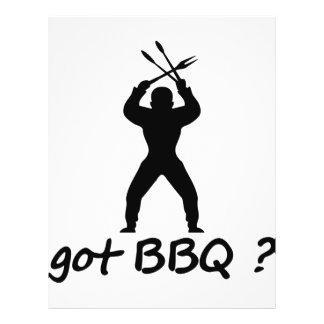 got BBQ? icon 21.5 Cm X 28 Cm Flyer