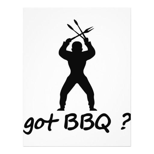 got BBQ? icon Flyer Design