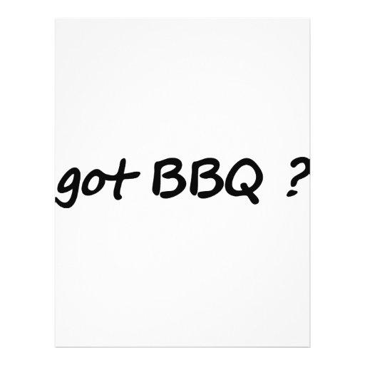 got BBQ icon Flyer