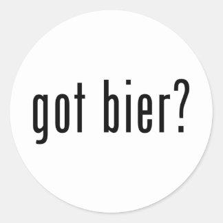 got bier? stickers