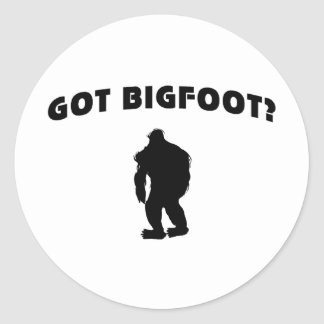 Got BigFoot? Round Sticker