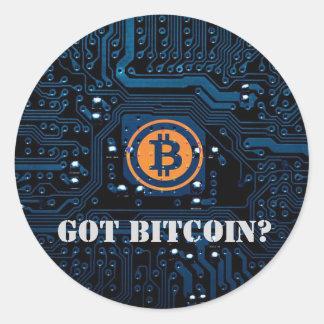"""Got Bitcoin?"" Cryptocurrency Sticker"