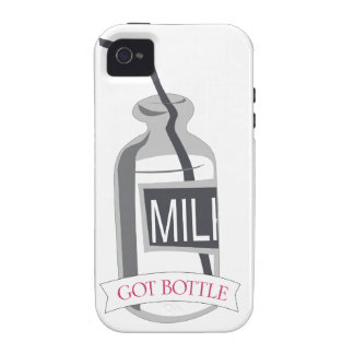 Got Bottle Milk Bottle with Straw iPhone 4/4S Cover