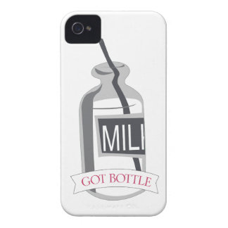 Got Bottle Milk Bottle with Straw iPhone 4 Case-Mate Cases