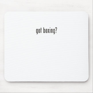 got boxing? mouse pads