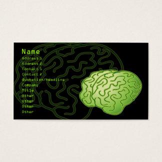 Got brains! business card