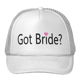 Got Bride Mesh Hats