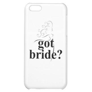 got bride iPhone 5C cover