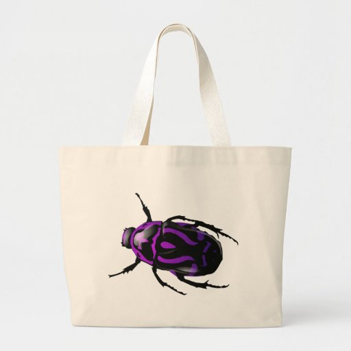 Got Bugs-Wild Colored Beetle Tote Bags