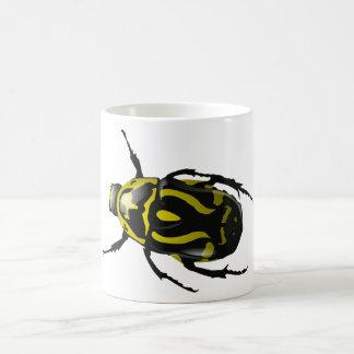 Got Bugs-Wild Colored Beetle Basic White Mug