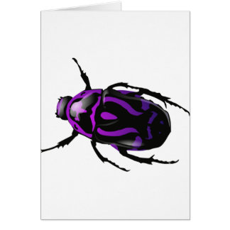 Got Bugs-Wild Colored Beetle Greeting Cards