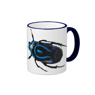 Got Bugs-Wild Colored Beetle Coffee Mugs