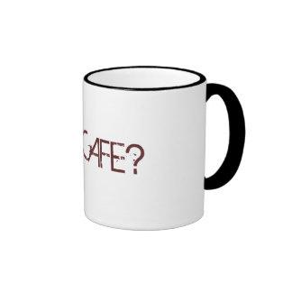 GOT CAFE? GOT COFFEE RINGER COFFEE MUG