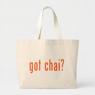 got chai? bag