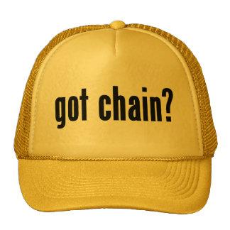 got chain? trucker hats
