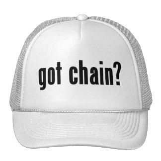 got chain? mesh hats