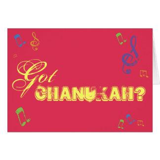 Got Chanukah Greeting Card