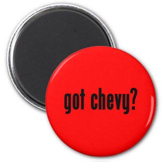 got chevy? 6 cm round magnet