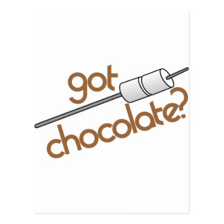 Got Chocolate? Postcard
