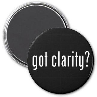 got clarity? Round Magnet