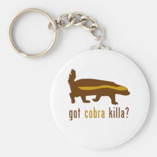 got cobra killa (honey badger) key ring