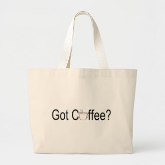 Got Coffee? 2 Tote Bags