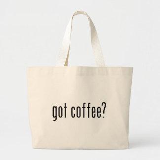 got coffee? tote bags