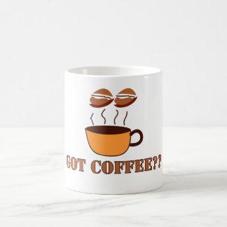GOT COFFEE?? BASIC WHITE MUG