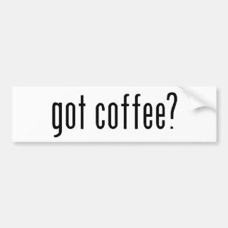 got coffee? bumper stickers