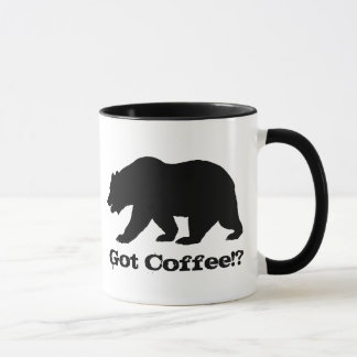 Got Coffee!? California Bear Edition Mug