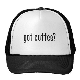 got coffee? cap