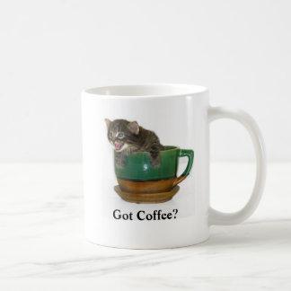 Got Coffee? Cat Coffee Cup Mugs