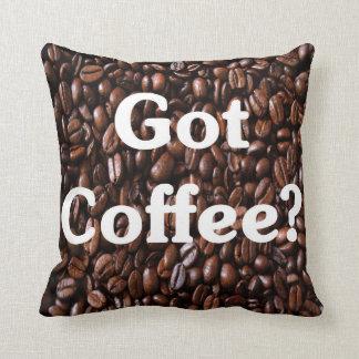 Got Coffee Cushion