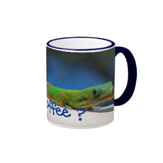 Got coffee? Gecko mug