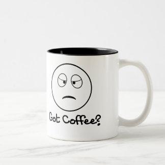 Got Coffee? - Grumpy Sleepy Mug